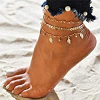 Foot Accessories 3pcs/set Anklets for Women