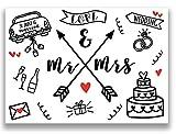 Just Married Karte Hochzeitskarte Hchzeit Karte Hochzeitseinladung Rockabilly Hochzeit Glückwunsche Geschenk Hochzeitgeschenk Mr Mrs Hochzeitsgeschenk Brautpaar