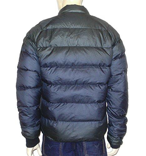 Diesel hochwertige Herren Daunen- Winterjacke W-Neel dunkelblau (XL)