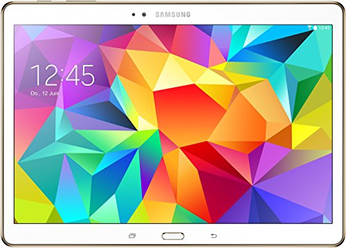 Samsung Galaxy Tab S 26,7 cm (10,5 Zoll) WiFi Tablet-PC (Quad-Core, 1,9GHz, 3GB RAM, 16GB interner Speicher, Android) weiß