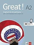 Great! A2 Lehr- und Arbeitsbuch mit 2 Audio-CDs A2: Englisch für Erwachsene