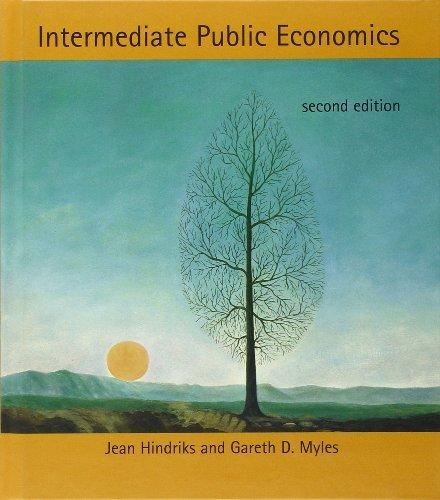 Intermediate Public Economics (MIT Press) by Jean Hindriks (2013-04-05)