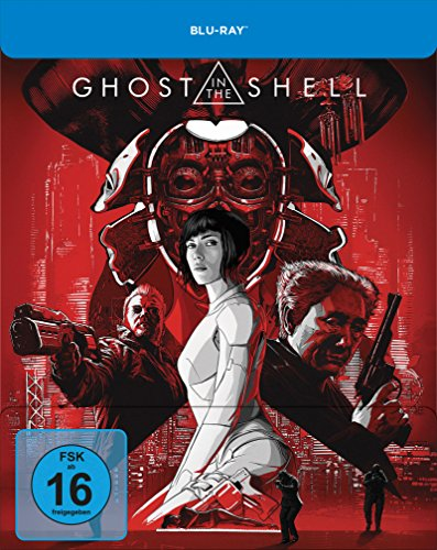 Ghost in the Shell - Limited Steelbook-Edition [Blu-ray] [Limited Edition]