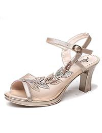 LGK&FA verano sandalias de la mujer sandalias tacones talón zapatos de la mujer zapatos de la mujer zapatos de...