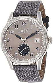 Hugo Boss Mens Quartz Watch, Chronograph Display and Textile Strap 1513683