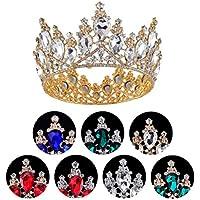 Frcolor 1pc Baroque Tiara Crowns Vintage Hair Hoop Jewelry Accesorios para el Cabello para Bodas (Color Aleatorio)