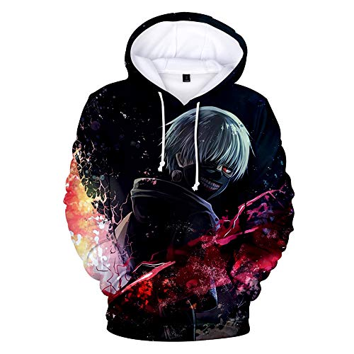 Tokyo Ghoul Frauen/Männer Kapuzenpullover 3D-Druck Sweatshirt Hip Hop Sportswear Unisex Pullover PUL1 5 XL