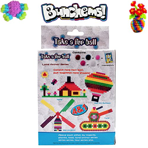 AsianHobbyCrafts Bunchems Junior Pack 50 pieces (Pack 3)