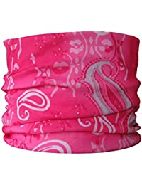 Multifunctional Headwear Pink Paisley