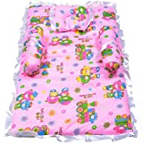 Pk Traders Baby Bedding Set (Pink)