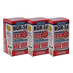 Aimil Carbohydrate Metaboliser BGR - 34 Tablets - (Pack of 3)