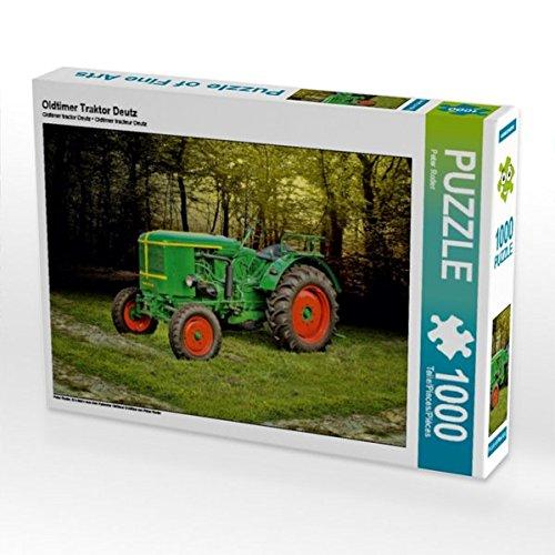 Oldtimer Traktor Deutz 1000 Teile Puzzle quer