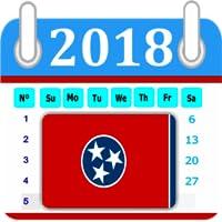 Tennessee Calendar 2018 Holiday
