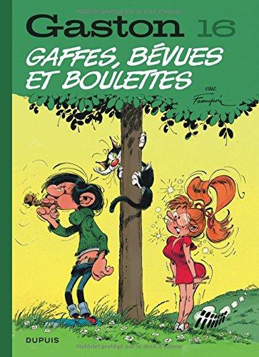 Gaston, Tome 16 : Gaffes, bévues et boulettes