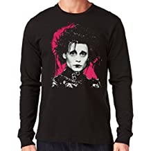 35mm - Camiseta Hombre Manga Larga - Edward Scissorhands - Eduardo Manostijeras - Long Sleeve Man