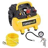 1.100 Watt Kompressor Spiralschlauch und Reifenfüller im Set - 1