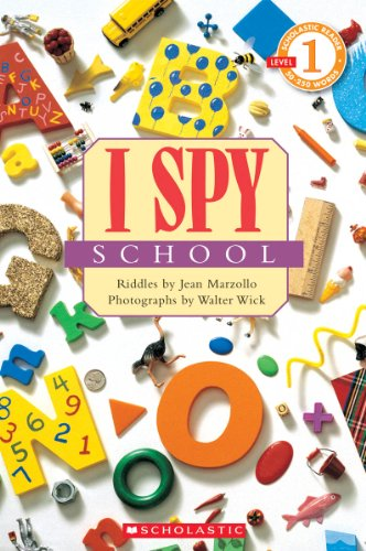I Spy School (Scholastic Readers, Level 1) por Jean Marzollo