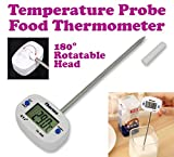 Gadget Hero'S Details About Barbeque Bbq Food Probe Kitchen Cooking Thermometer Sensor Range