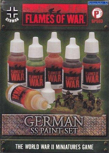 German Paint Set (Camo Flame Orange)