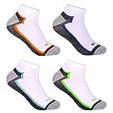 12 Paar Sneaker Socken Herren Füßlinge aus Baumwolle antibakteriell 92254