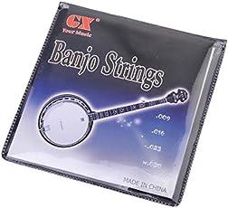 Generic A Set of 4 Strings for 4-String Banjo