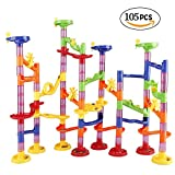 Marble Run Railway Toy DIY Building Blocks Marble Runs Coaster Railway Construction Marble