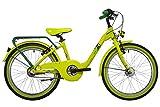 s. Cool Niños chiX Pro 20–3–Bicicleta juvenil, color Lemon/Green Matt, tamaño 20 pulgadas (50,8 cm)