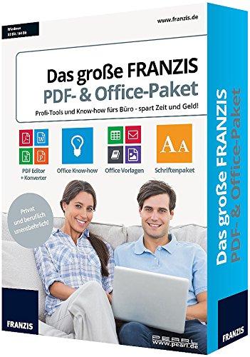 Preisvergleich Produktbild Das große FRANZIS PDF- & Office-Paket