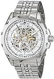 Lindberg&Sons Herren Analog Automatik Uhr mit Edelstahl Armband SK17H027