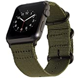 BarRan reg; Apple Watch Sport Cinturino 42mm, Nylon Adaptateurs Quick Release WatchCinturino pour Apple Watch Sport,Series 3,...