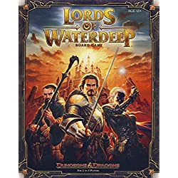 Wizards of the Coast - Juego de Mesa, «Dragones y Mazmorras: Señores de Aguas Profundas»