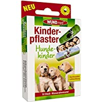 Wundmed 5er Vorteilspack Kinderpflaster Hundekinder, 5 Pack a 10 Stk. (50 Stk.) preisvergleich bei billige-tabletten.eu