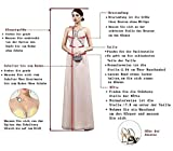 Mingxuerong Hochzeitskleid Böhmischen Strand Spitzen glitzer Boho Brautkleider Umstandsmode