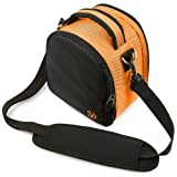 Laurel Camera Case (Orange)