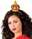 Brillo reina de corazones Mini corona diadema