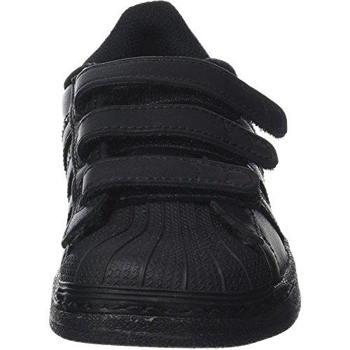 new product f8f98 4c650 Scarpe C Bambini Unisex Da Superstar Foundation Adidas Fitness Cf ymON0vnP8w