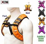 Gewichtsweste 10kg Gewicht Verlust Training Running verstellbar Jacke abnehmbarer Gewicht Crossfit...