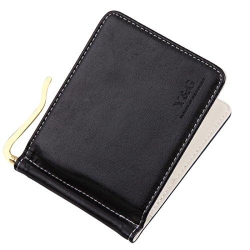 YCA1001 schwarze Mode-Geschenke Designer Wallet 5 Kartenhalter Mens Geld-Clip-Wallet-Design pr?sentiert Idee von Y&G (Designer-geld-clip Schwarze)