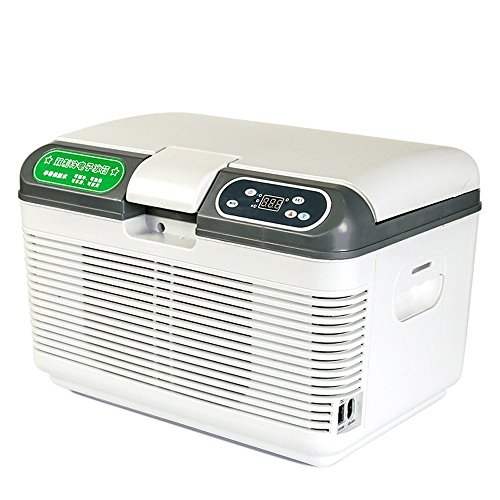 Egab Mini Fridge Electric Cooler and Warmer (12 Liter ): AC/DC Portable Thermoelectric System