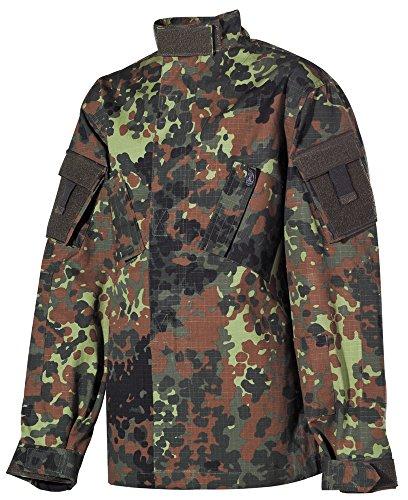 Kinder-Anzug, ACU, flecktarn, Hose u. Jacke, Rip Stop Größe: XL -