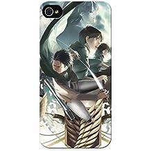 Flyinghouse Series Skin Case Cover Ikey Case For Iphone 5/5s(shingeki No Kyojin Armin Arlert Christa Renz Erd Gin Eren Jaeger Gunter Shulz Hanji Zoe Irvin Smith)
