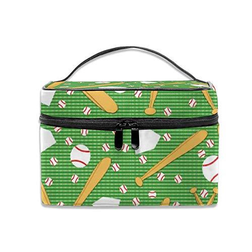 Tragbarer Reise-Kulturbeutel-Organisator, Baseball All Stars-Kosmetiktaschen für Frauen-Mädchen, Make-upbeutel, Aufbewahrungstasche All-star-garage