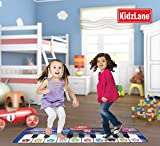Piano Mat for Kids, 10 Selectable Sounds + Play -Record -Playback -Demo-mode, Heavy Duty Material