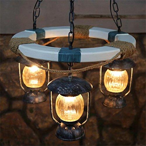 Shopping-Hotel Mediterranean Cafe lampada ristorante lampadario soggiorno personalizzato moda di legno Arts Club tre