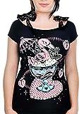 Banjo & Cake Damen Oberteil Flamingo Sundae Annabel Shirt