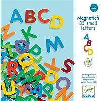 Djeco  - Magnéticos 83 Letras pequeñas