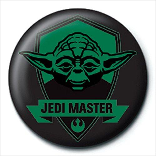 Pyramid Star Wars Yoda Jedi Master Kleiner Button Button, 25 mm (Party Yoda Supplies)