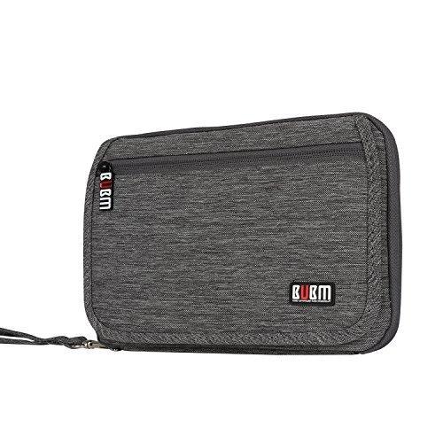 bubm-travel-gear-organiser-electronics-accessories-bag-card-holder-gray