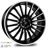 KESKIN KT15 BLACK LIP POLISH 8,5x19 ET30 5.00x112.00 Hub Hole 66.60 mm - Alu felgen