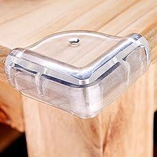 Inditradition Furniture Corner Guard for Kids/Baby Safety - Set of 4 Pcs. - Transparent